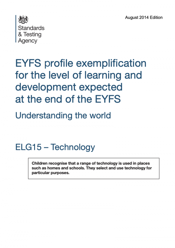 EYFS - Early Years