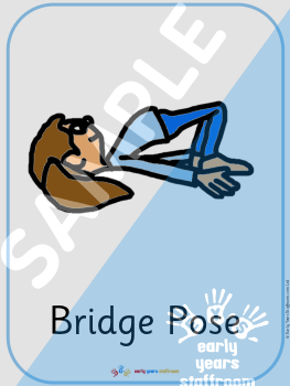 children's yoga pose posters  download resource  early years