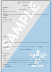 Accident Template Form