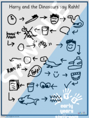 Story Map Hand Drawn Early Years Resource