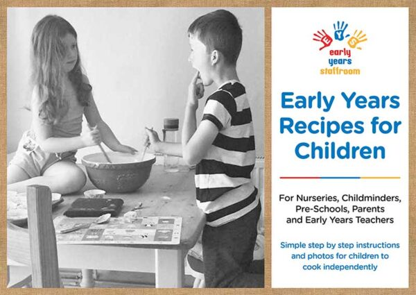 Early years recipes for children book