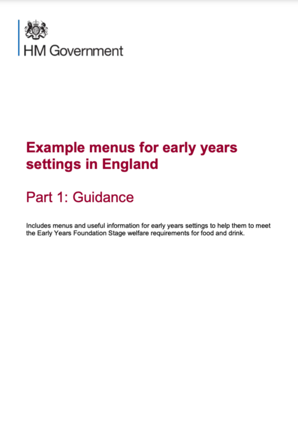 Official Early Years Documents