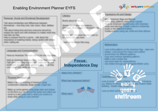 Early Years Planning